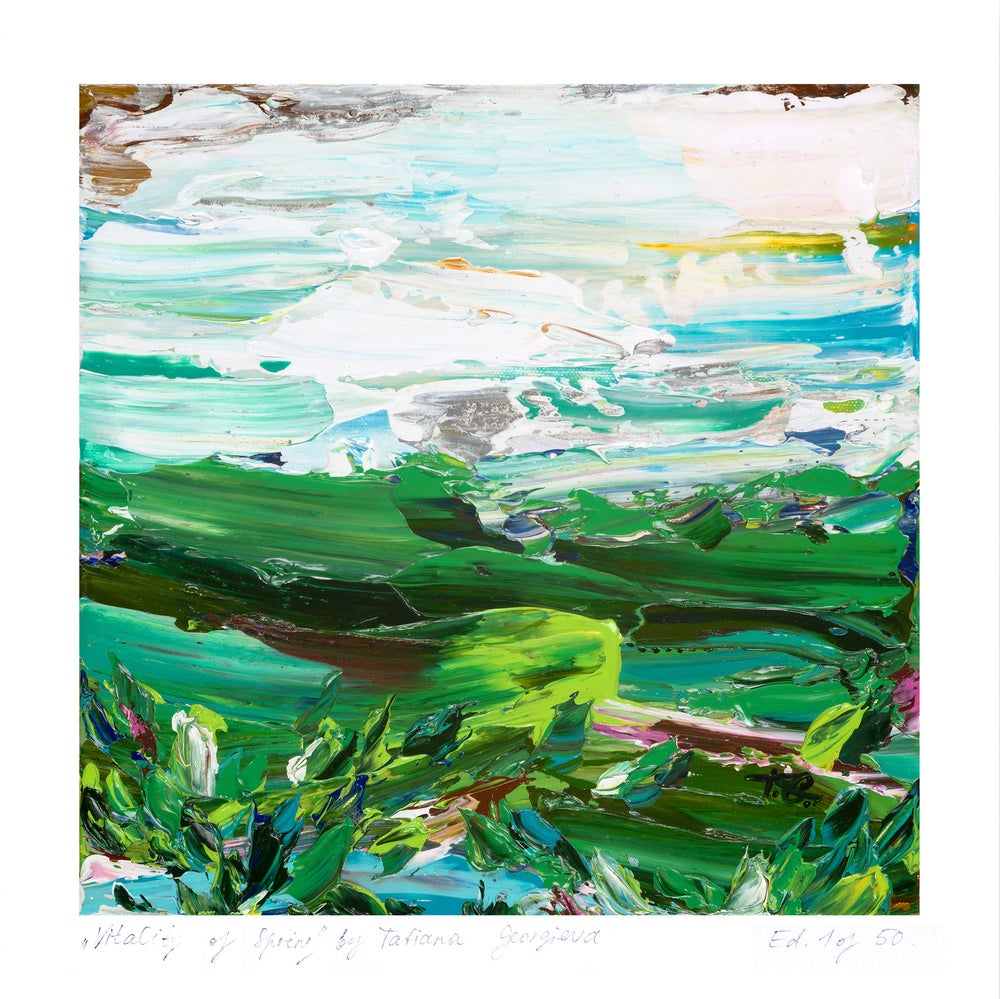 Image of 'Country no.25' - small limited edition print