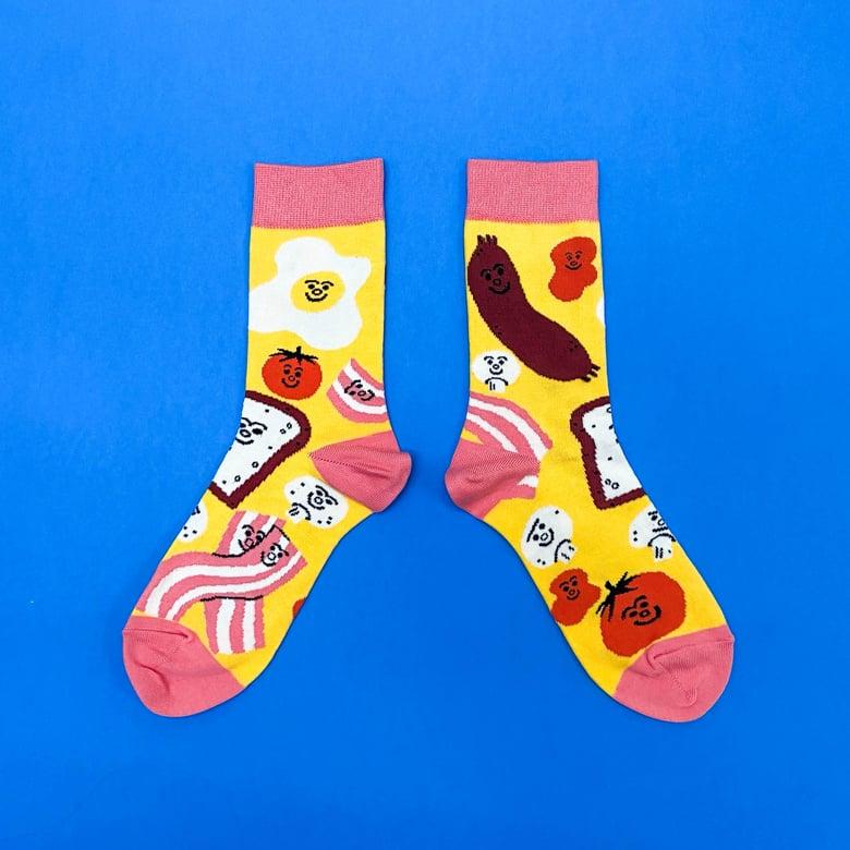 Image of Breakfast Socks