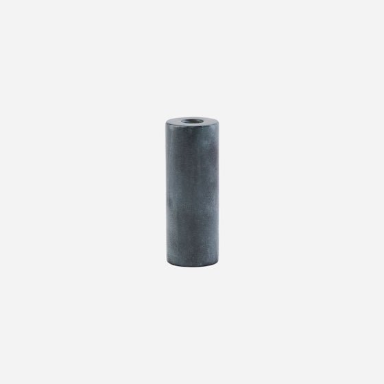 Image of Soapstone grey candle holder