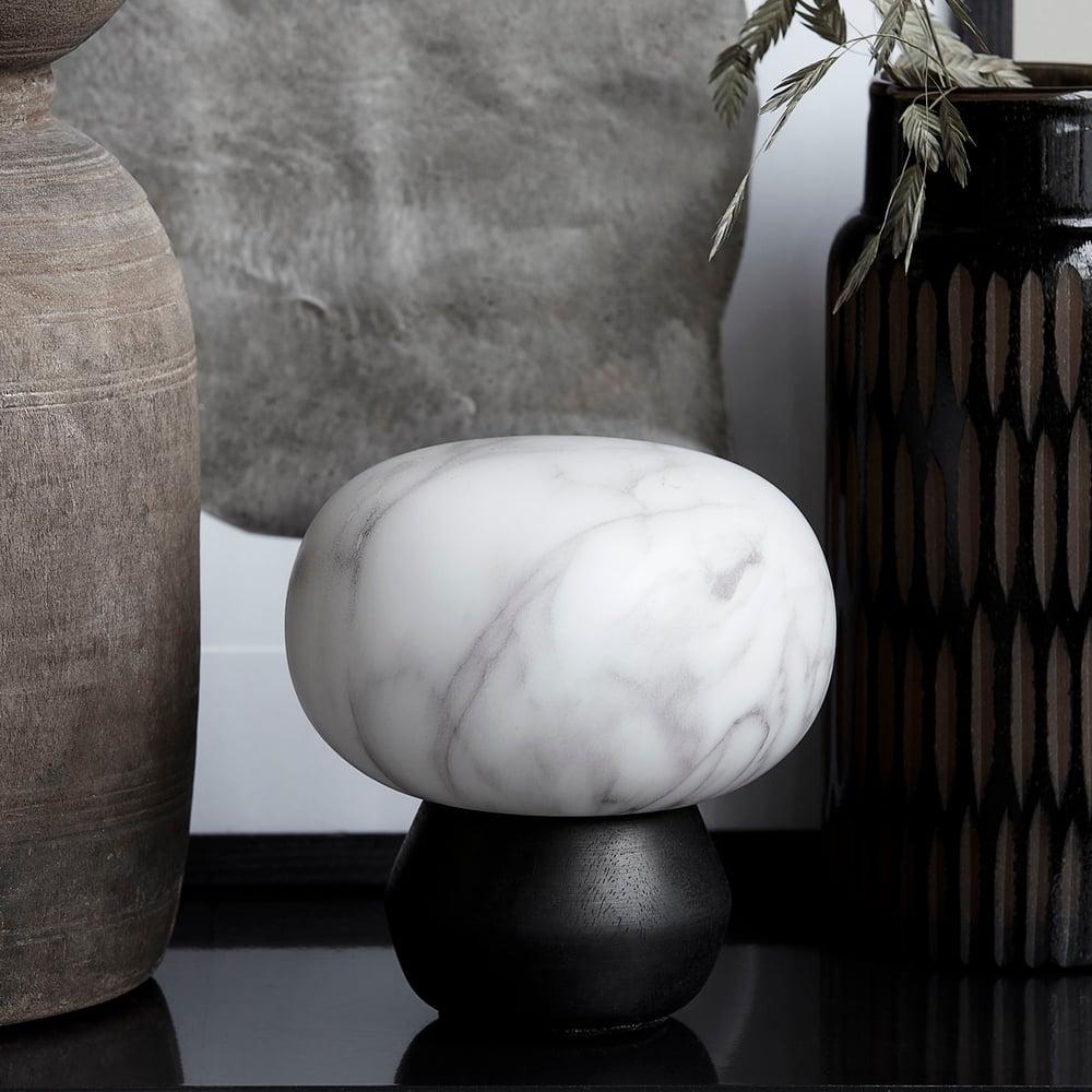 Image of Fog marble lantern