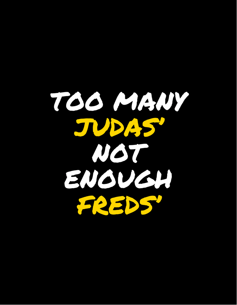 "Image of ""Too many Judas"""