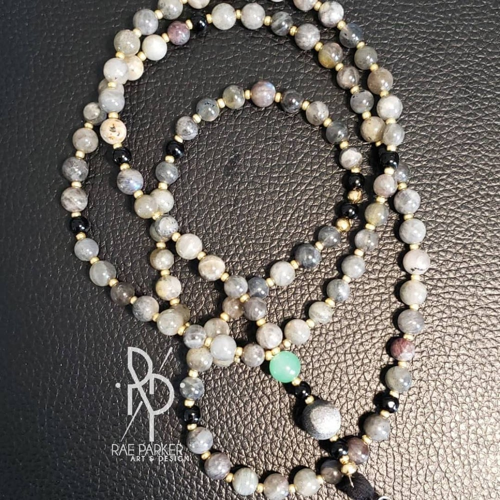 Image of Custom Meditation Mala Necklace