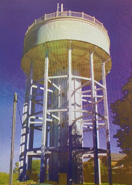 Image of Rumfield Road Watertower 20/20  by Charlie Evaristo-Boyce
