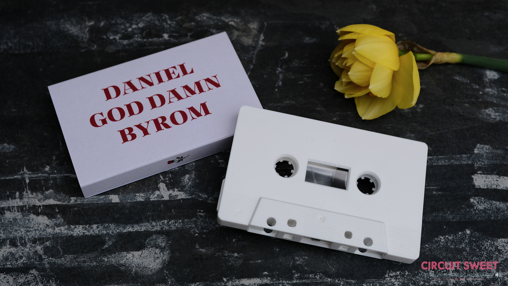 "Image of Daniel God Damn Byrom - ""Live From Dead Tuesdays / Live From Sad Claire's Apartment"" 2 EP Cassette"