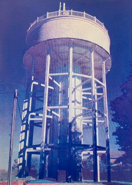 Image of Rumfield Road Watertower 19/20 by Charlie Evaristo-Boyce