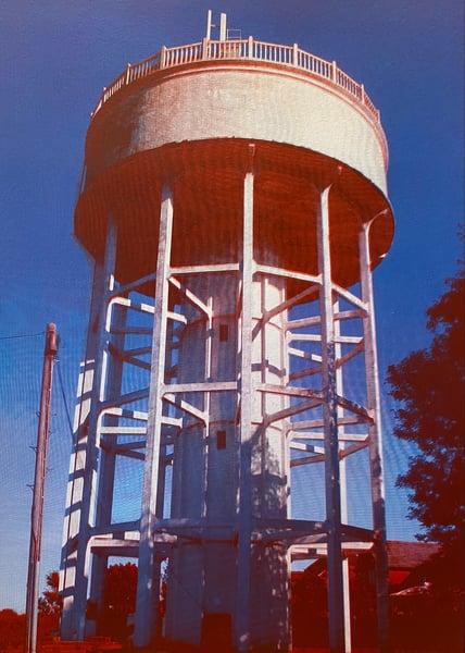 Image of Rumfield Road Watertower 18/20 by Charlie Evaristo-Boyce