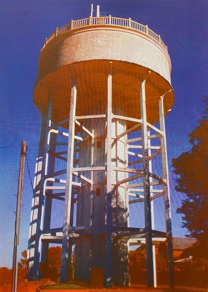 Image of Rumfield Road Watertower 17/20 by Charlie Evaristo-Boyce