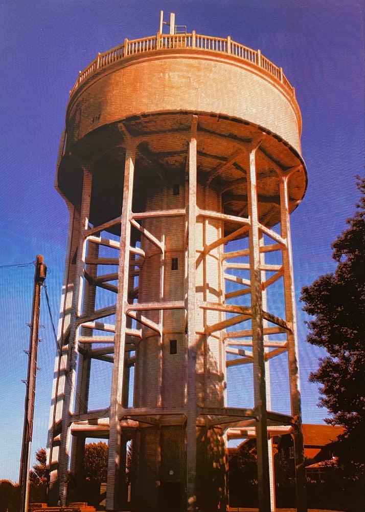 Image of Rumfield Road Watertower 16/20 by Charlie Evaristo-Boyce