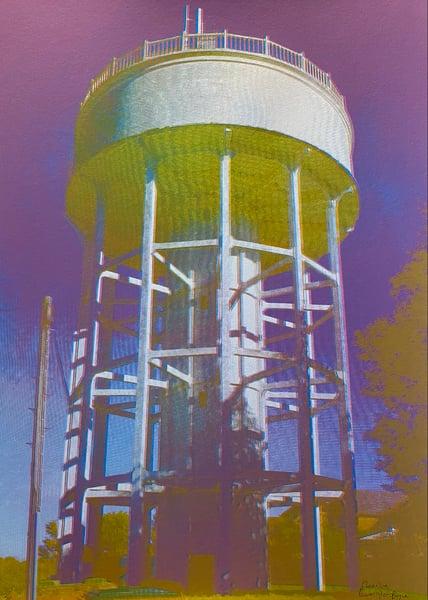 Image of Rumfield Road Watertower 5/20 by Charlie Evaristo-Boyce