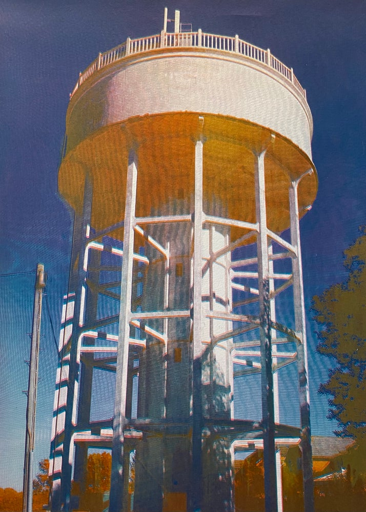 Image of Rumfield Road Watertower 3/20 by Charlie Evaristo-Boyce