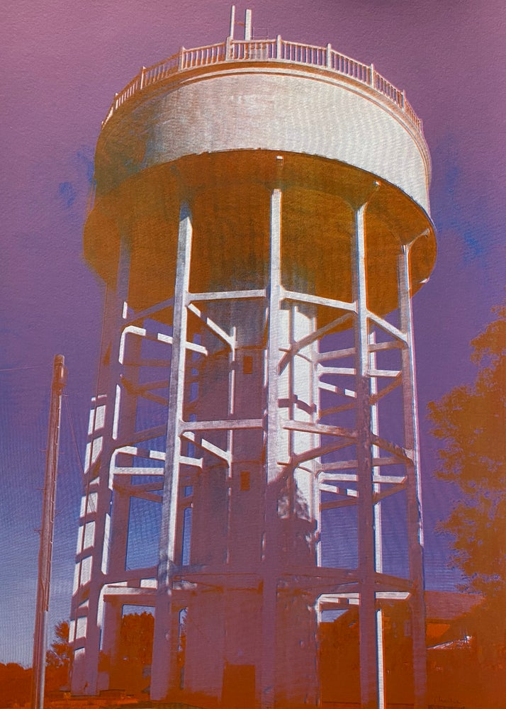 Image of Rumfield Road Watertower 2/20 by Charlie Evaristo-Boyce