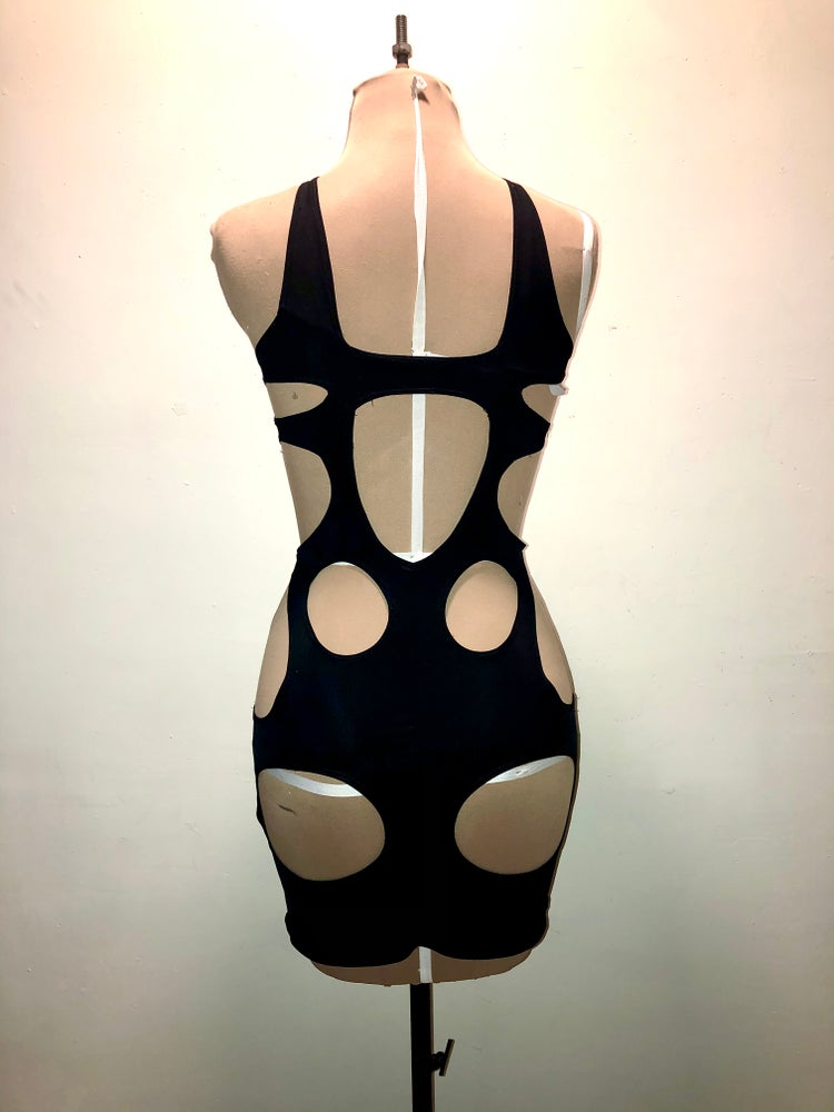 Image of Right and tight mini dress