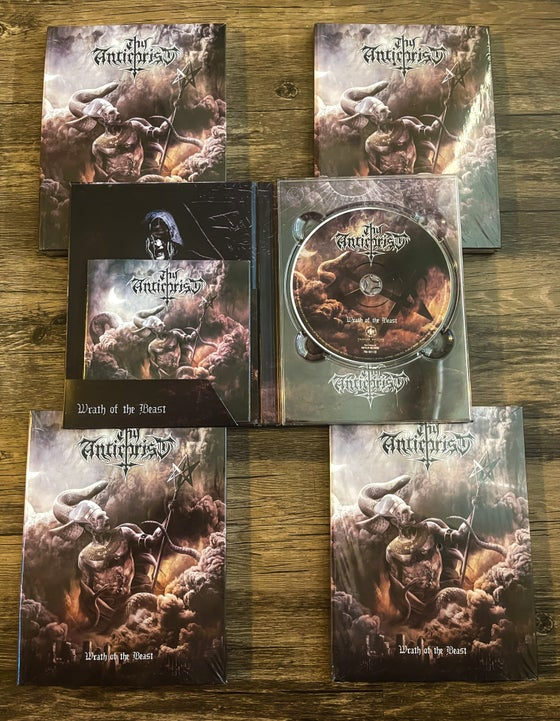Image of Wrath of the Beast - Hard Cover A5 CD - Signed