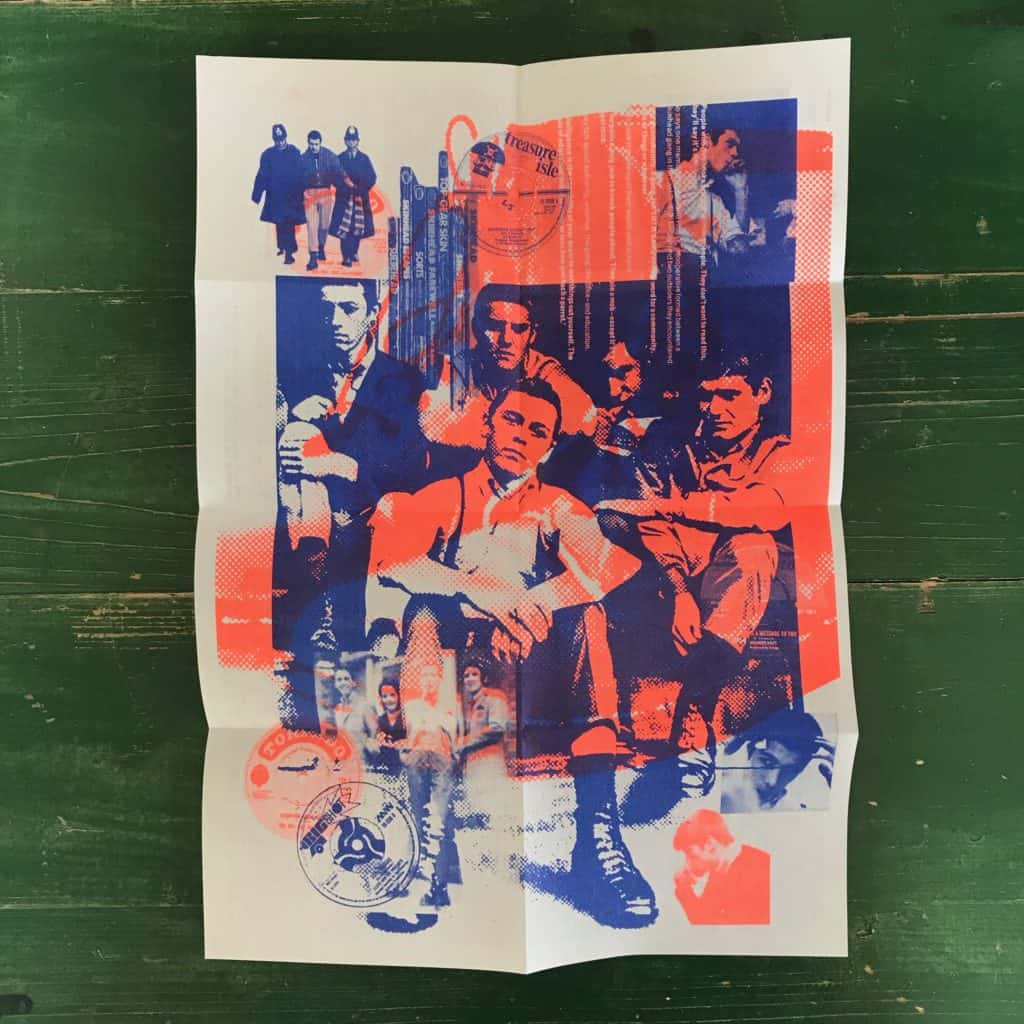 Image of Poster Zine 1 : Skinhead