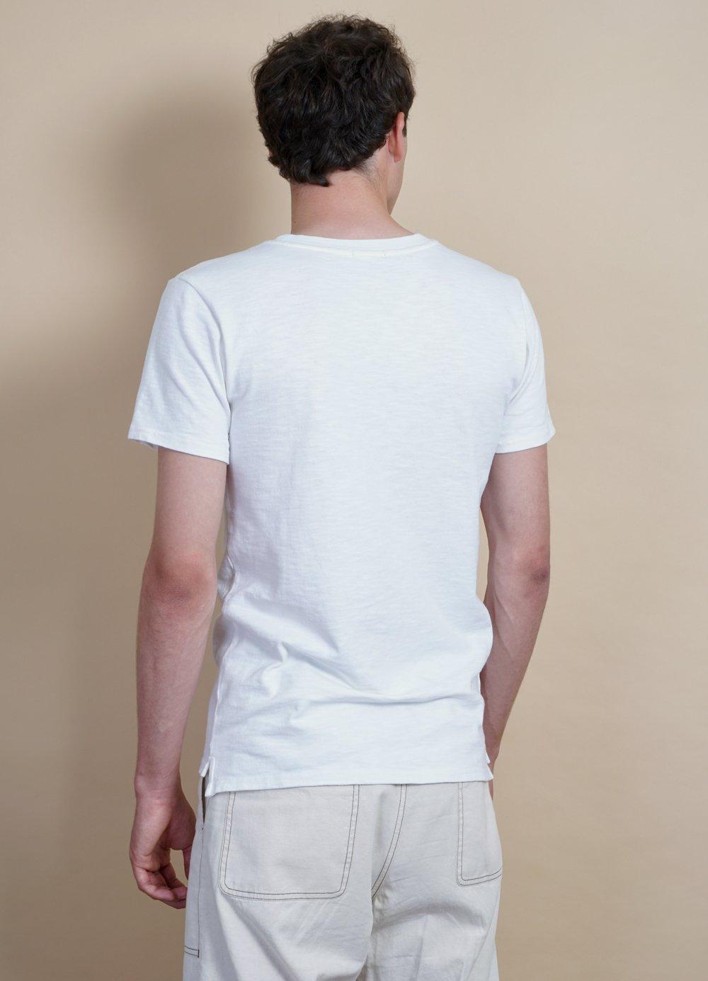 Hansen Garments JAMES | Slub Yarn Pocket T | var. colors