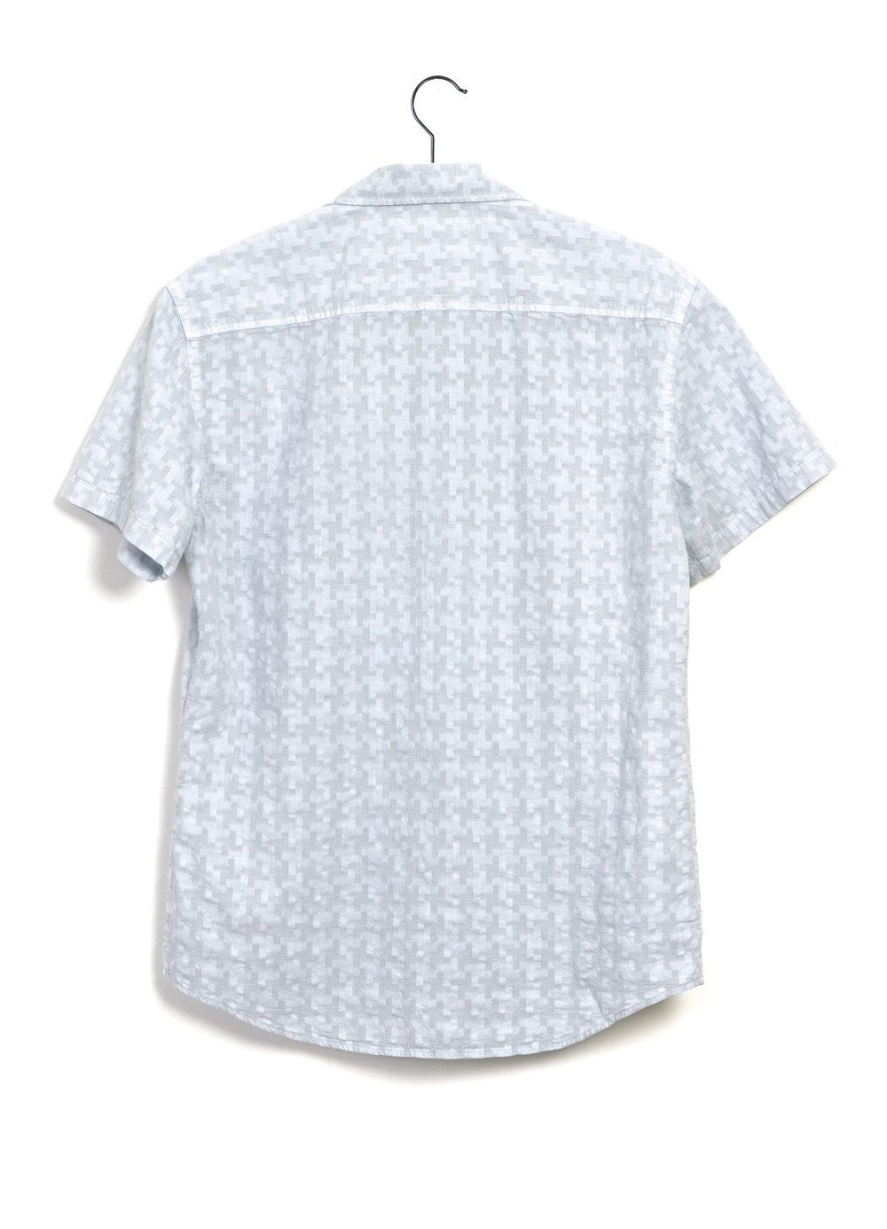 Hansen Garments JONNY | Short Sleeve Shirt | White, Aqua