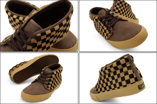 1df325694b Earth Nest — Vans Vault Checkered Pony Chukka LX sneaker