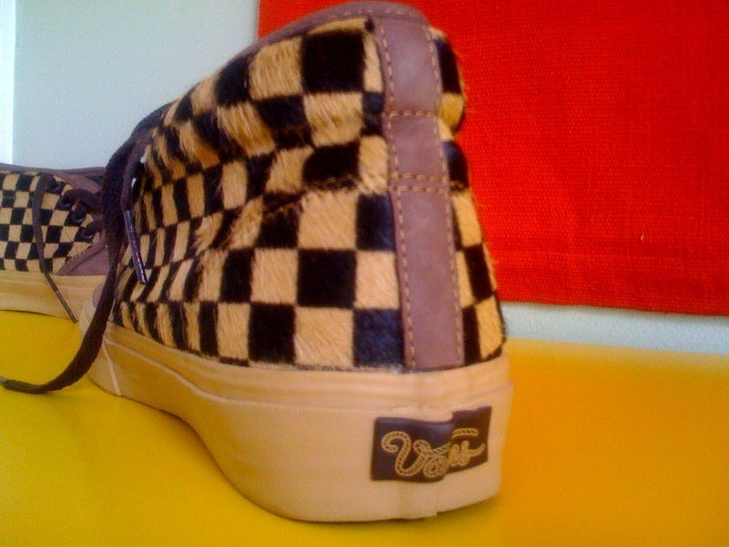 3b64c258b3 ... Image of Vans Vault Checkered Pony Chukka LX sneaker ...