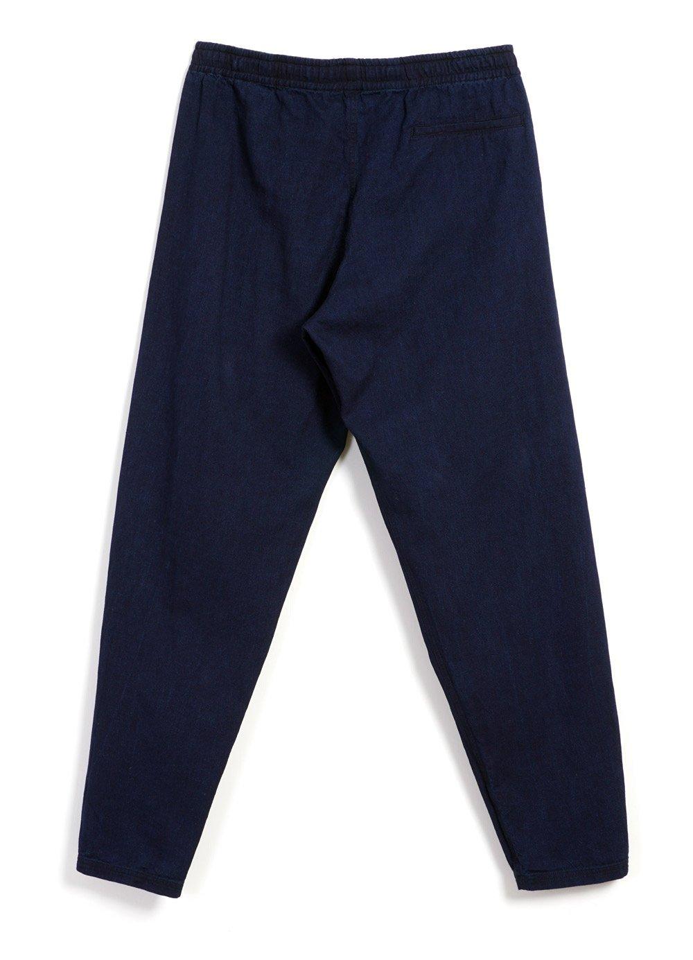 Hansen Garments JIM | Casual Drawstring Trousers | Indigo
