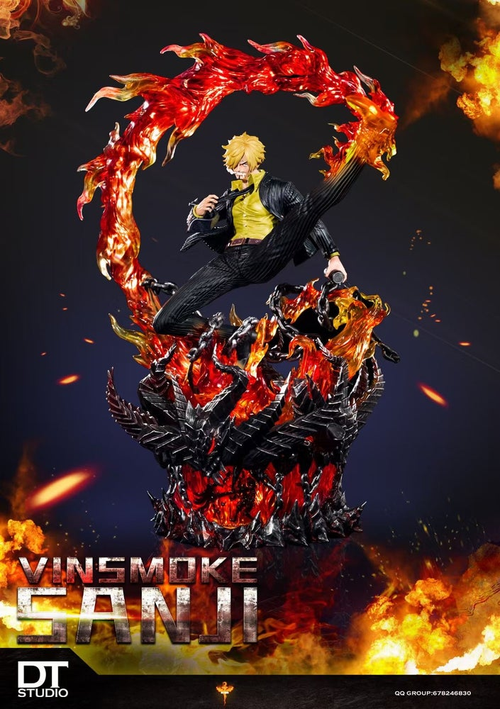 Image of [Pre-Order] One Piece Dt Studio Sanji Resin Statue
