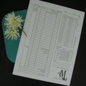 "Image of ""The Mindful Keeper"" financial envelopes"