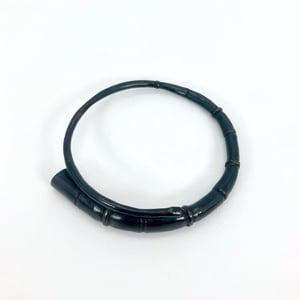 Image of Black Tendril Bangle Bracelet 09