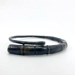 Image of Black Tendril Bangle Bracelet 10