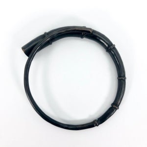 Image of Black Tendril Bangle Bracelet 12