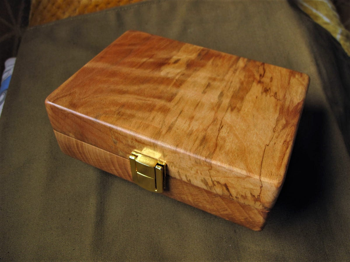 Image of Copper beech perch float box