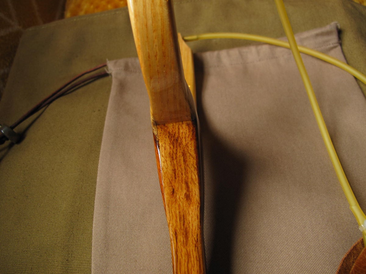 Image of Handmade oak and ash catapult