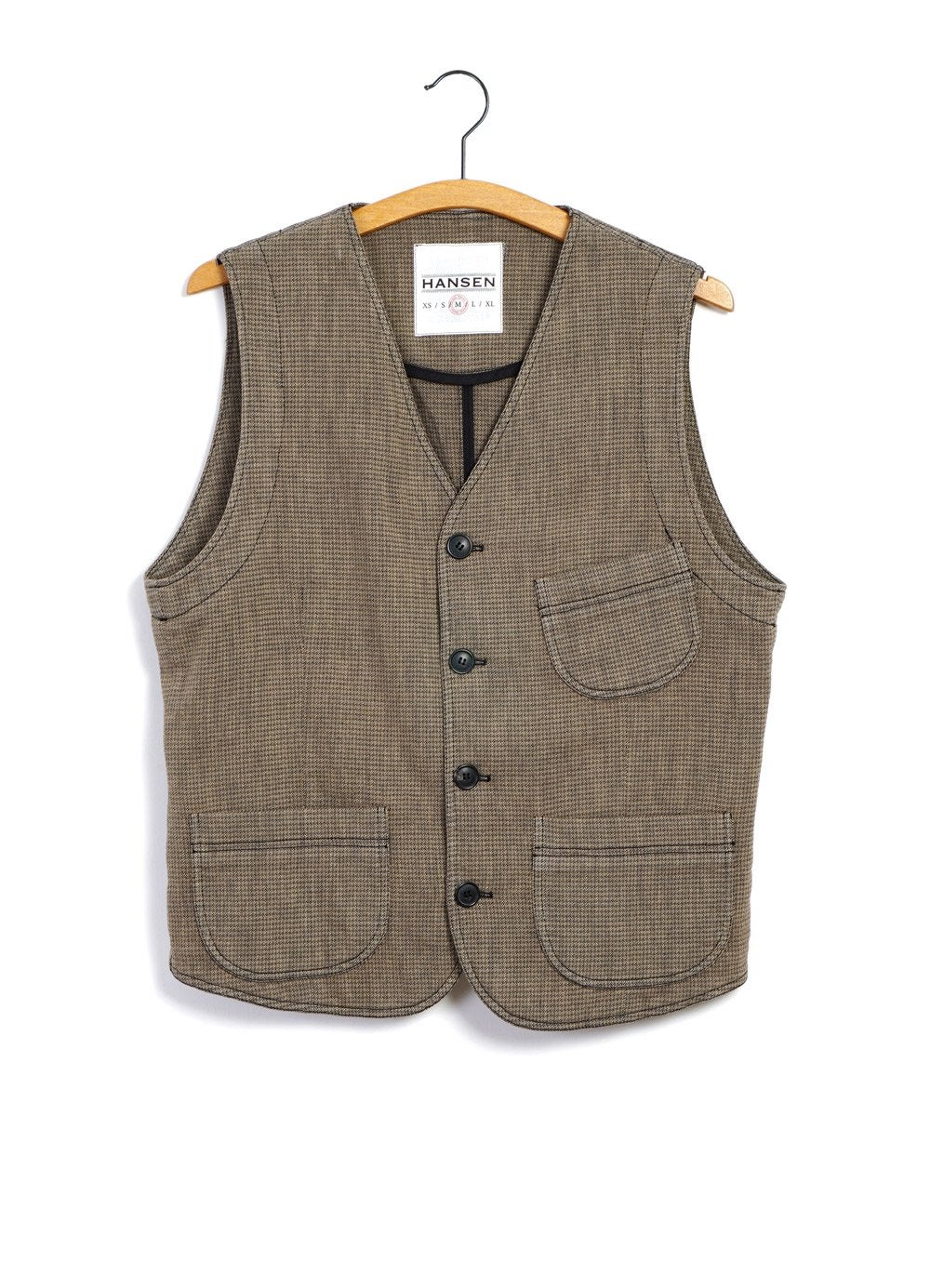 Hansen Garments HARALD | Casual Waistcoat | Lion