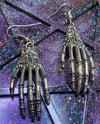 Skeleton Hand Earrings