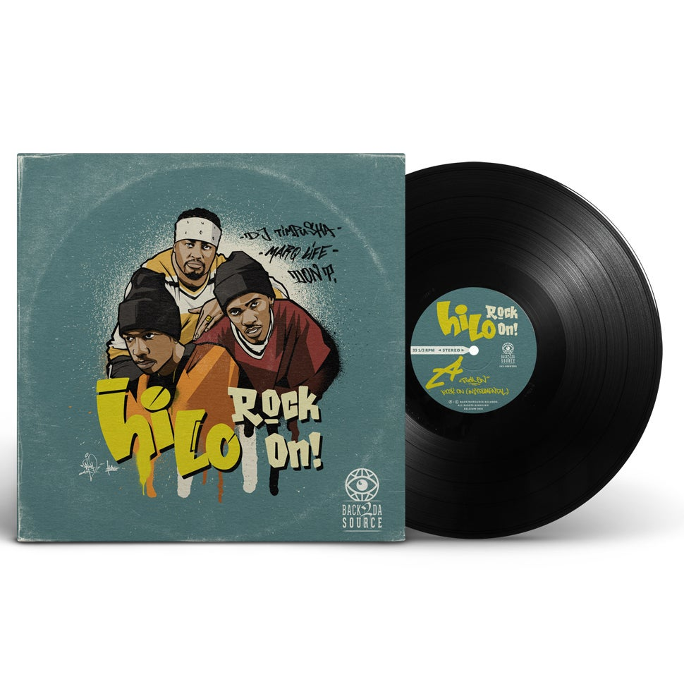 """Image of Hi Lo - Rock On !  ( 12""""  reissue 1995/2021) (SOLD OUT)"""