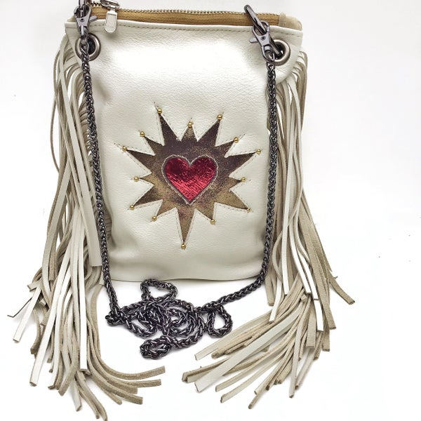 Image of Mon Coeur Mini Fringe Crossbody