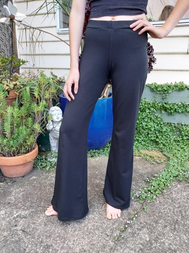Image of Basic Black KAT pants