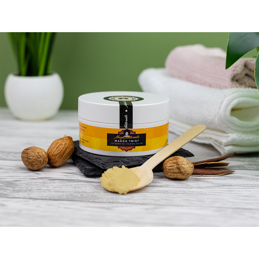 Image of Mango Twist Whipped Hair and Body Butter 200ml