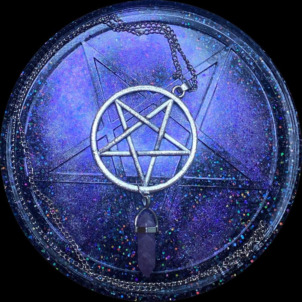 Pentacle w/Pendant Necklace