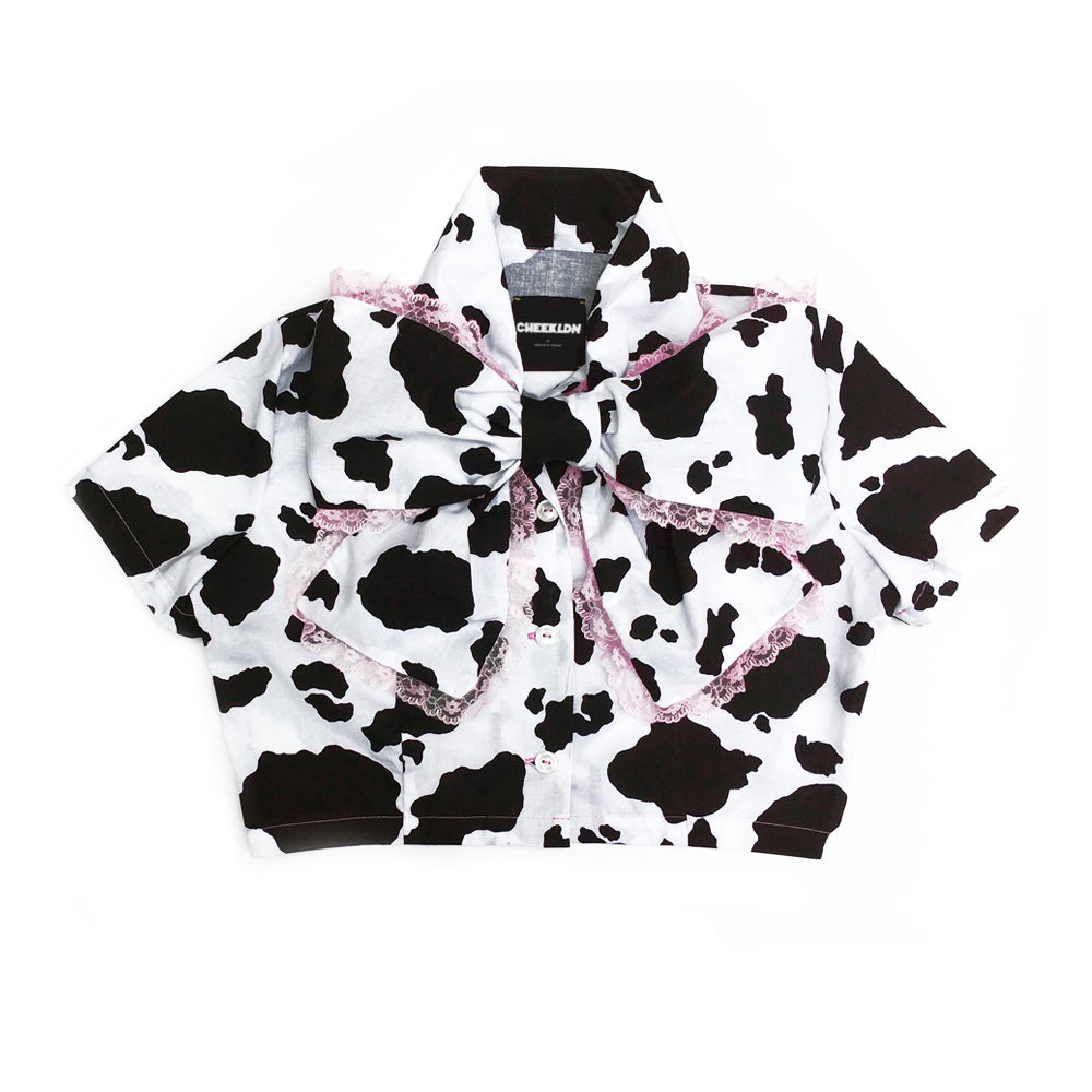 THE HOLY COW! BOW SHIRT