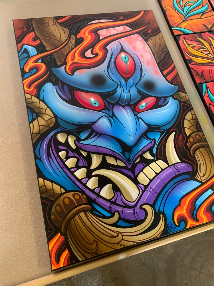 Image of Blue Oni