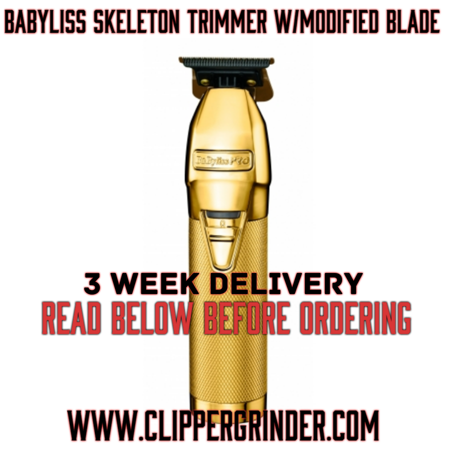 Image of (3 Week Delivery/High Order Volume) Babyliss Skeleton Pro Trimmer W/Modified Blade