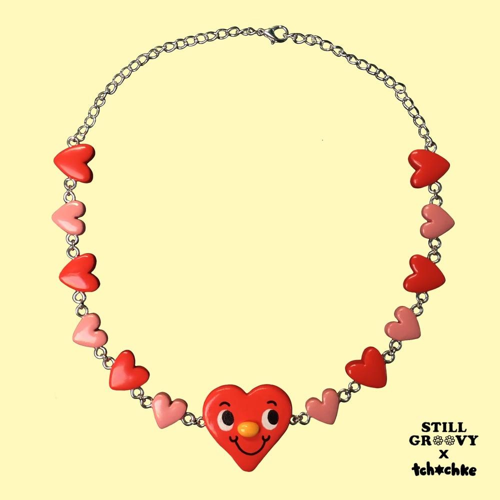 """""""Marcy"""" Heart Chokelace"""