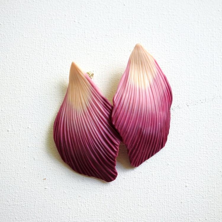 Image of Grandes boucles d'oreilles pétales