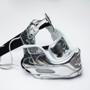 Image of SNEAKER MASK / AIR MASK 90 / SILVER