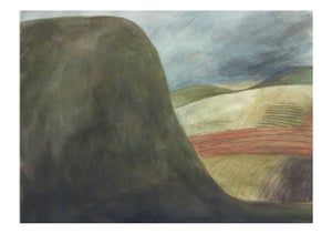 Image of Big hill print