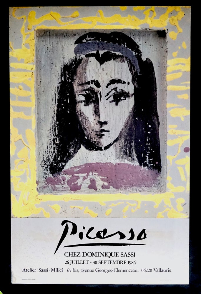 Image of (after) pablo picasso / portrait with yellow frame / 23/094