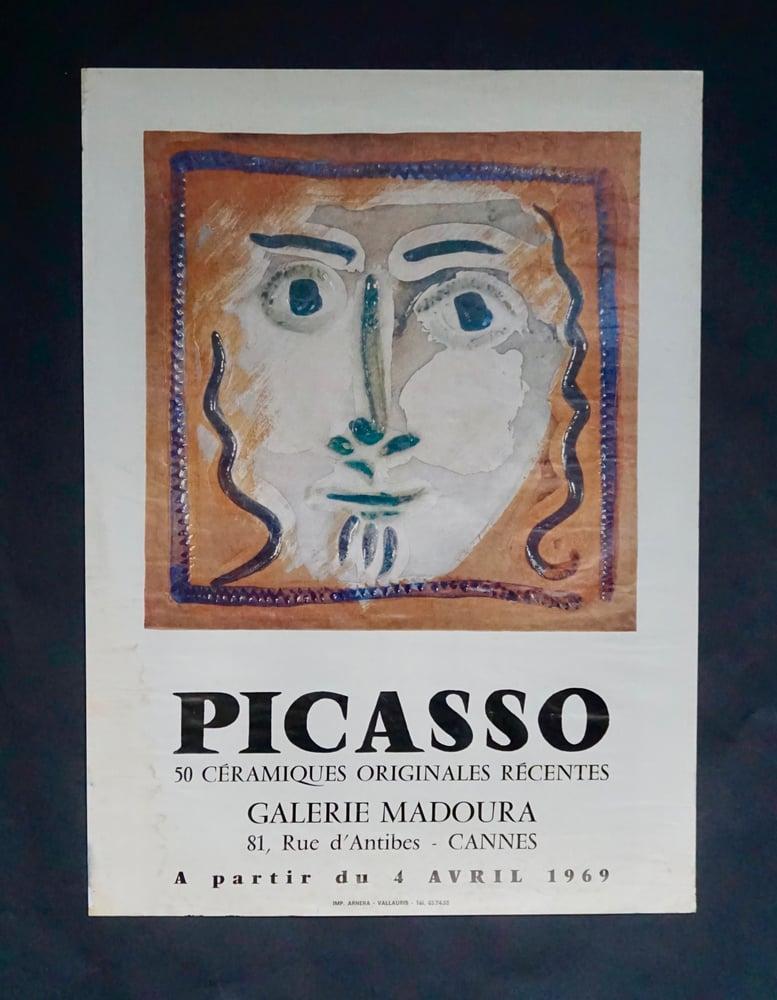 Image of (after) pablo picasso / ceramic portrait  / 23/095