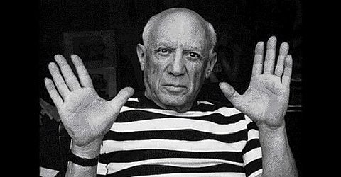Image of (after) pablo picasso / vallauris / poster 23/097