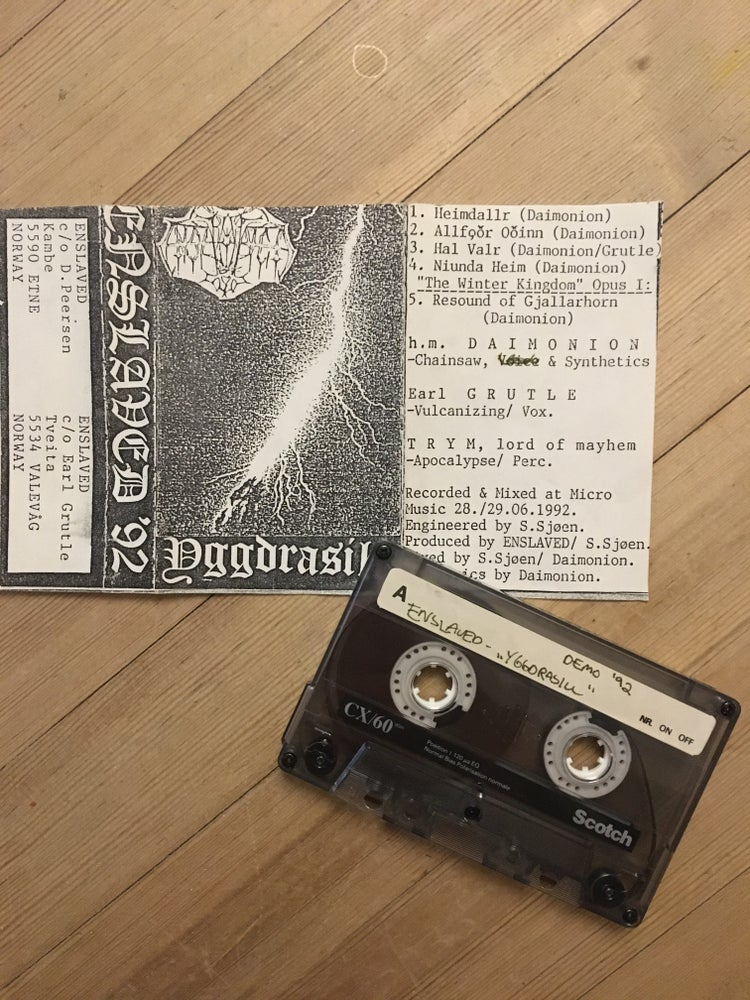 Image of Enslaved Original demo!!