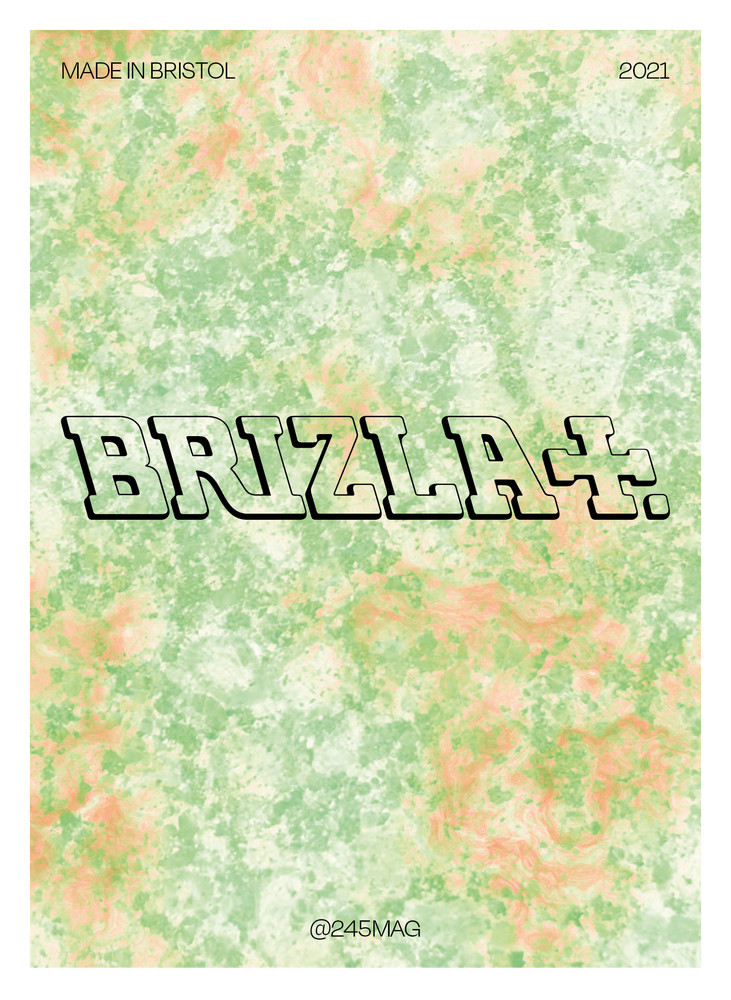 Image of Brizla postcard set