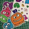 Monsteroni Stickers